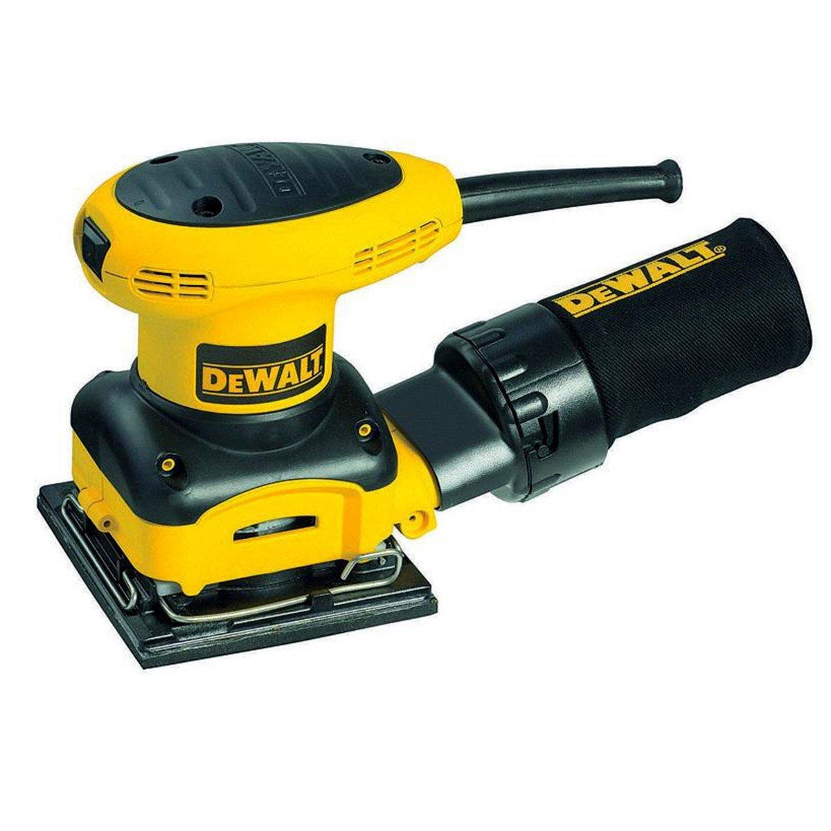 DEWALT D26441 2.4 Amp 1/4 Sheet Palm Grip Sander