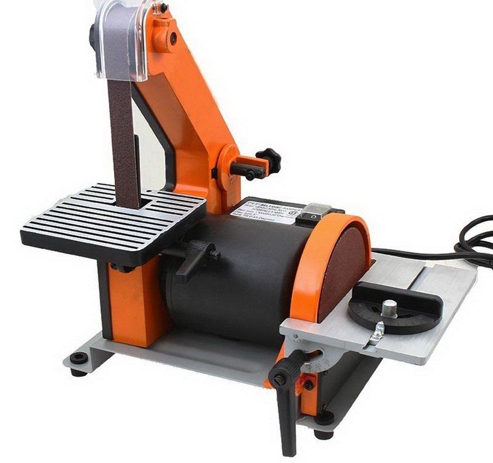 Disc Sander Benchtop Combination Electric Motor Grinder Sanding Machine